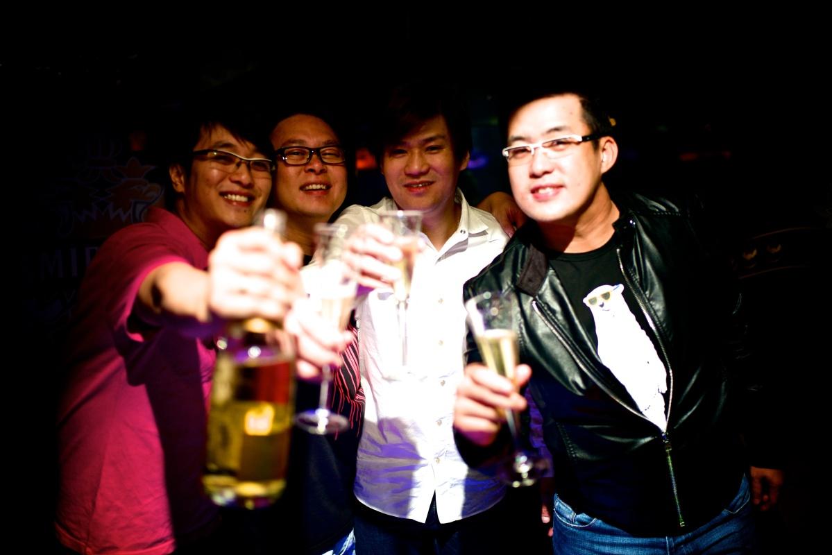 Hans Bachelor Party 62