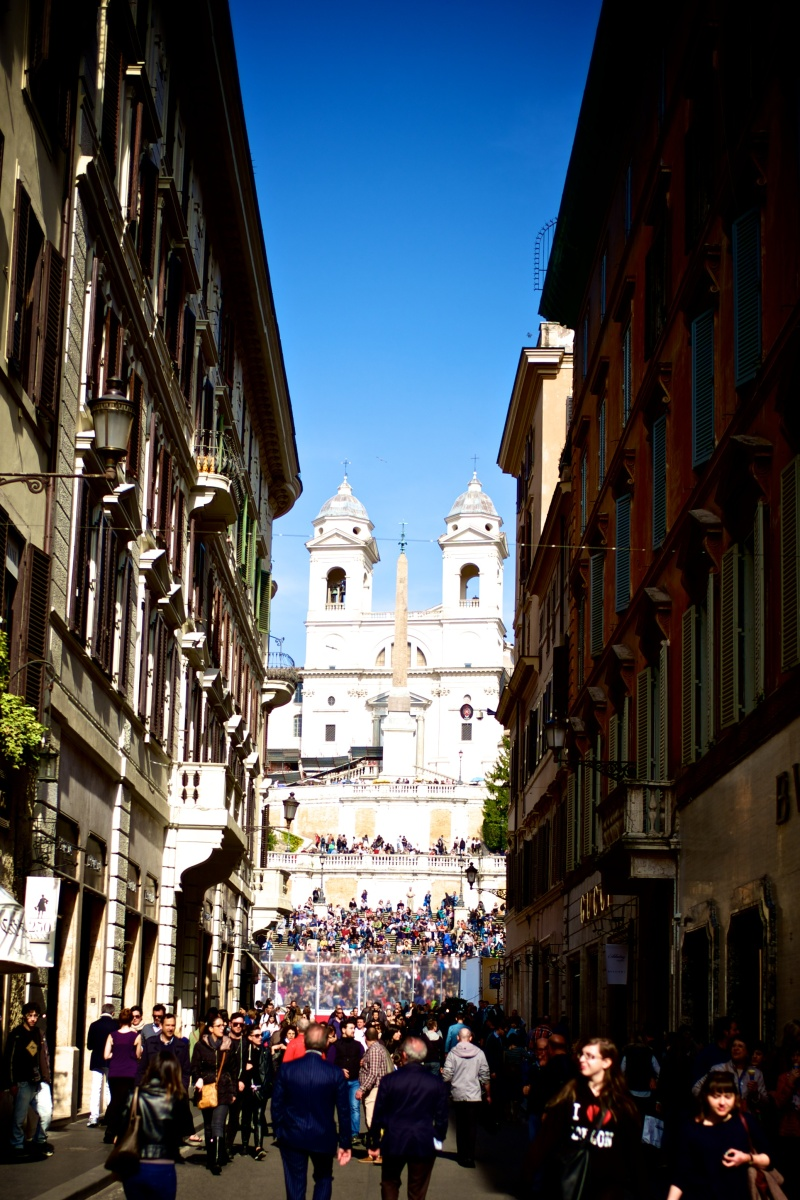Rome Piazza Navona Spanish Steps 01