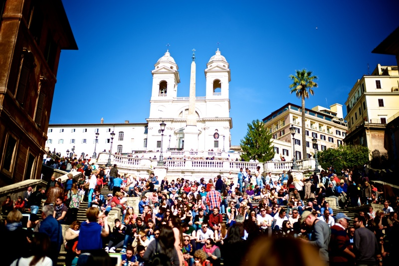 Rome Piazza Navona Spanish Steps 04