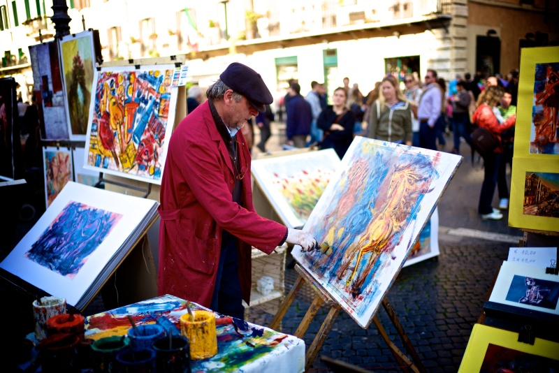 Rome Piazza Navona Spanish Steps 14