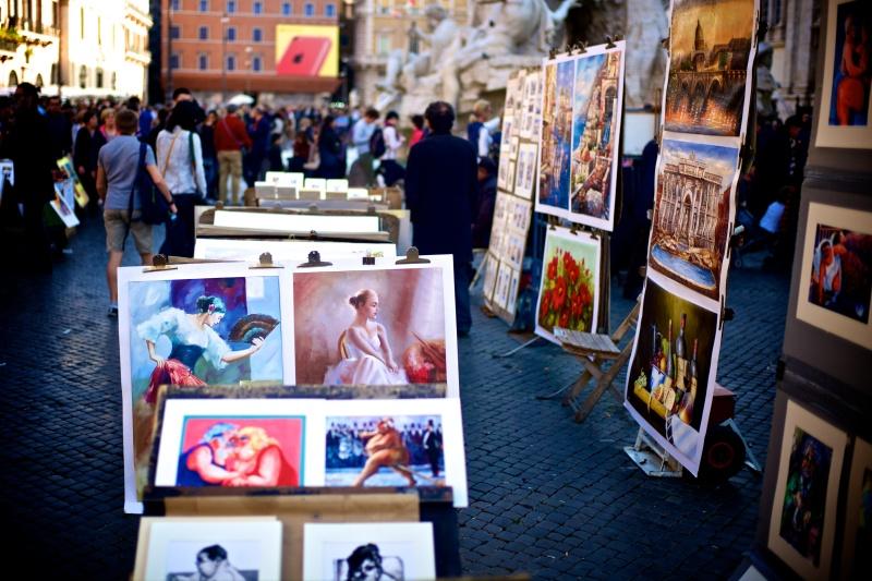 Rome Piazza Navona Spanish Steps 19