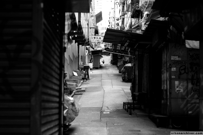 Streets Hong Kong Morning 3