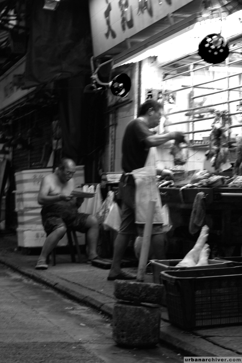 Streets Hong Kong Morning 4